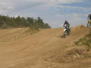 KTM 500 MX action